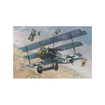 ドイツ フォッカー F.I三葉戦闘機 WW-I (1/32スケール 032T605)の商品画像