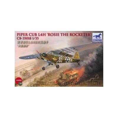 アメリカ パイパー カブ L-4 バズーカ搭載 地上 攻撃機 ロージーロケッター (1/35スケール CB35018)の商品画像
