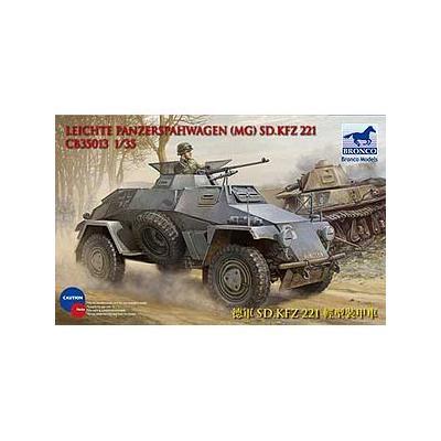 ドイツ Sd.kfz221 軽偵察装甲車 4x4機銃 搭載タイプ (1/35スケール CB35013)の商品画像