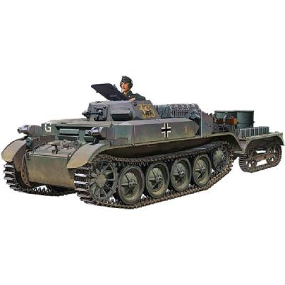 ドイツ II号 D型 火炎放射戦車 フラミンゴ+UEトレーラー (1/35スケール CB35090)の商品画像
