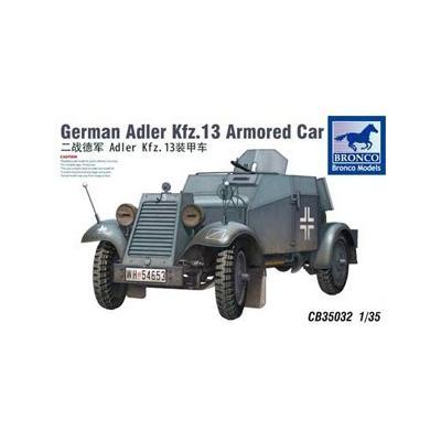 独アドラーKfz.13軽4輪装甲自動車MG機銃搭載型 (1/35スケール CB35032)の商品画像