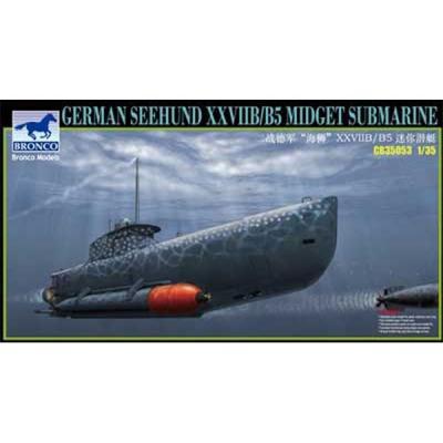 ドイツ Uボート XXVIIB型 ゼーフント 小型 潜水艇 (1/35スケール CB35053)の商品画像