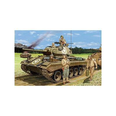アメリカ M24 チャーフィー 軽戦車 大戦型 +戦車兵 4体 (1/35スケール CB35069)の商品画像