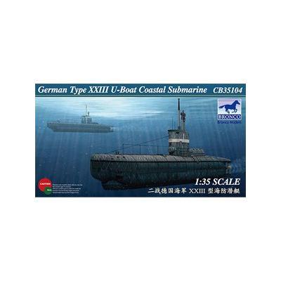 ドイツ Uボート XXIII型 沿岸用 潜水艦 (1/35スケール CB35104)の商品画像