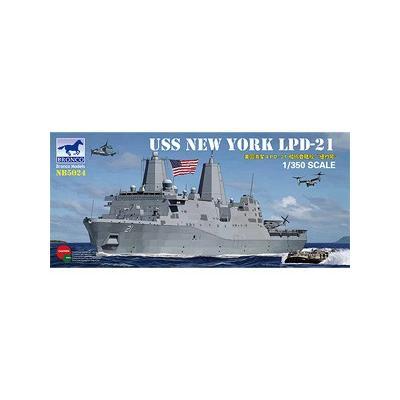 アメリカ ドック型 揚陸艦 LPD-21 ニューヨーク (1/350スケール CB5024)の商品画像