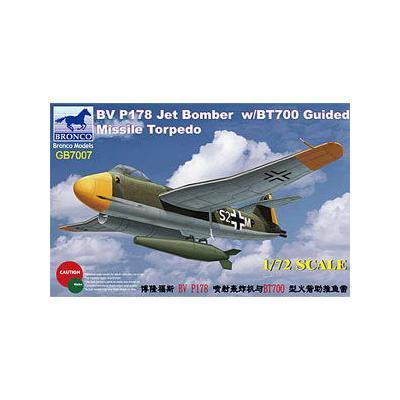 ドイツ ブローム ウントフォス Bv P178+BT700 魚雷型 爆弾 (1/72スケール CBF72007)の商品画像