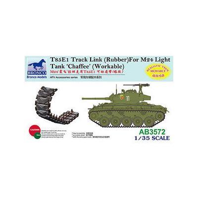 アメリカ M24チャーフィー T85E1ラバータイプ可動キャタピラ (1/35スケール CBA3572)の商品画像