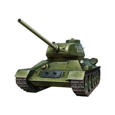 ロシア T-34/85 中戦車・朝鮮戦争 人民英雄 215号車 (1/32スケール CBM3201)の商品画像
