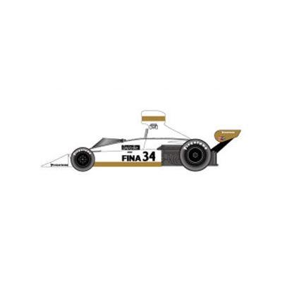 ブラバムBT44(42/44) ヘキサゴン #34 フランスGP (1/20スケール ST27-FK20302)の商品画像