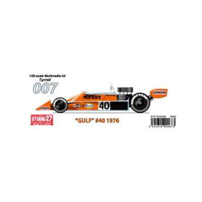 ティレル007 #40 Gulf (1/20スケール ST27-FK20306)の商品画像