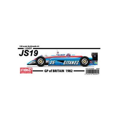 JS19 イギリス (1/20スケール ST27-FK20308)の商品画像