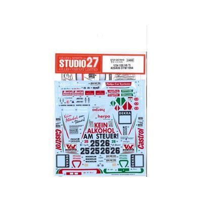 ALFA ROMEO 155 V6 TI #25/#26 DTM 1994 デカール (1/24スケール デカール ST27-DC781D)の商品画像