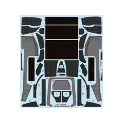 Type 97T Carbon decal (1/20スケール デカール ST27-CD20032)の商品画像