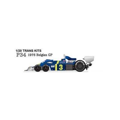P34 Belgian GP 1976 (1/20スケール トランスキット ST27-TK2072)の商品画像