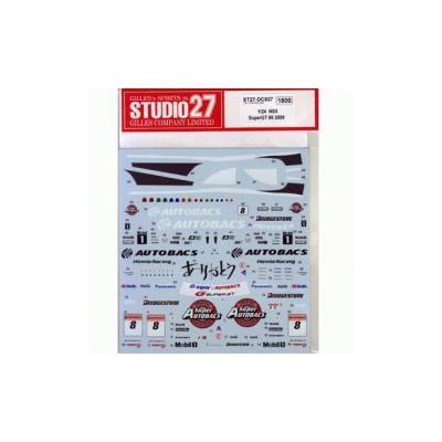 ホンダNSX Super GT #8 2009 (1/24スケール ST27-DC827)の商品画像