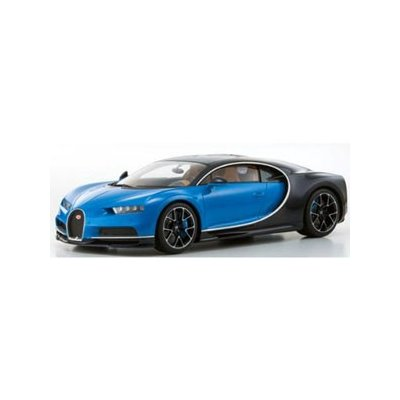 Bugatti Chiron (ブルー/ダークブルー) (1/12スケール 京商オリジナル KSR08664BL)の商品画像