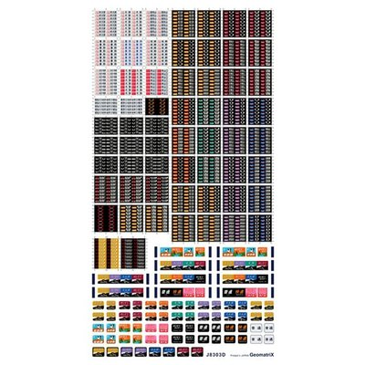 ジオマトリックス・デザイナーズ・インク 183系 381系 485系(福知山)フィルムシール J8303Dの商品画像