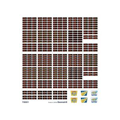 ジオマトリックス・デザイナーズ・インク 北近畿タンゴ鉄道 KTR8000形 フィルムシール Y8001の商品画像