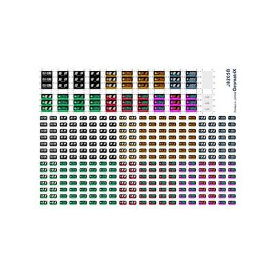 ジオマトリックス・デザイナーズ・インク 221系 種別表( 路線記号併記・奈良)フィルムシール J8205Bの商品画像