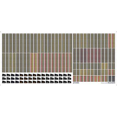 ジオマトリックス・デザイナーズ・インク E217系 LED表示 横須賀線・総武線 カトーサイズ フィルムシール J8104Bkの商品画像