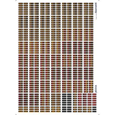 ジオマトリックス・デザイナーズ・インク 733系・735系 フィルムシール J8254Aの商品画像
