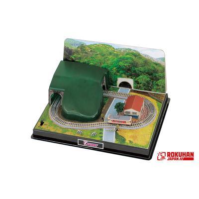 ロクハン Zショーティーミニレイアウトセット トンネルタイプ SS002-1の商品画像