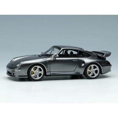 Porsche 911 (993) Turbo S 1996 ガンメタリック (1/43スケール VISION(ヴィジョン) VM113E)の商品画像