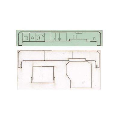 エヌ小屋 DD51用 SG室パーツ 1両分 カトー製品対応 10181の商品画像