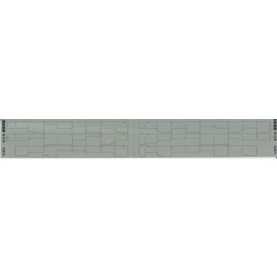 エヌ小屋 カーテンパーツ 24系25形・14系15形用(開閉)3両分 TOMIX製対応 10463の商品画像