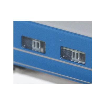 エヌ小屋 14系・24系 B寝台カーテンパーツ青(3両分)各社製対応 10482の商品画像