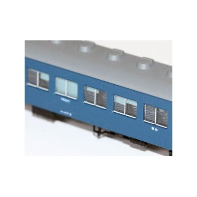 エヌ小屋 10系用 B寝台ブラインドカーテンパーツ カトー製品対応 10491の商品画像