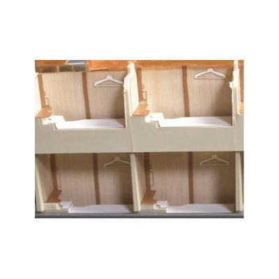 エヌ小屋 サンライズエクスプレス室内シート(7両分)トミックスHO9001-9004対応 10855の商品画像
