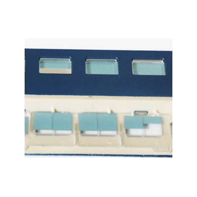 エヌ小屋 HOゲージ B寝台ブラインドカーテンパーツ(2両分)TOMIX・10系寝台車用 10870の商品画像