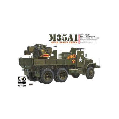M35A1 12.7mm 4連装 搭載 ガントラック ベトナム戦 仕様 (1/35スケール AFVキットシリーズ FV35034)の商品画像
