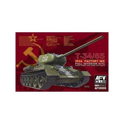 T-34 /85 第183工場製 クリアー成型限定版 (1/35スケール FV35S55)の商品画像