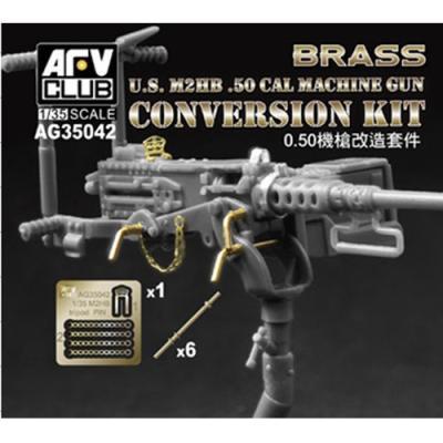 M2HB.50 機関銃 ディテールアップパーツ (1/35スケール 3AG35042)の商品画像