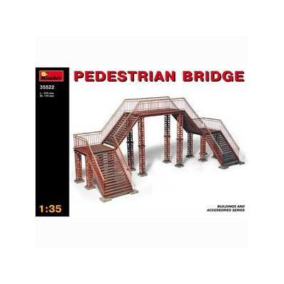 歩道橋 ジオラマアクセサリー (1/35スケール MA35522)の商品画像