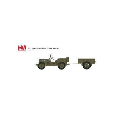 ウィリスMBジープ&トレーラー `イギリス第6空挺師団` (1/72スケール HG4214)の商品画像