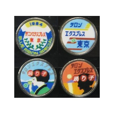 モリヤスタジオ 機関車用トレインマーク サロンエクスプレス東京など S7015の商品画像