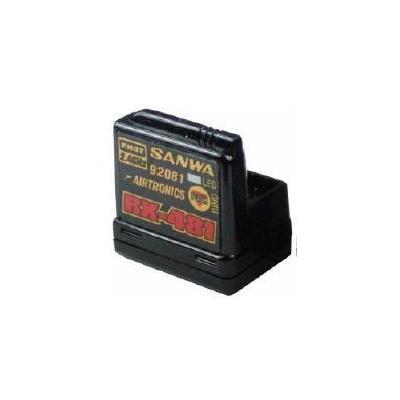 レシーバー RX-481 (2.4GHz FHSS4/FHSS3 スペクトラム拡散方式 4ch) 107A41251Aの商品画像