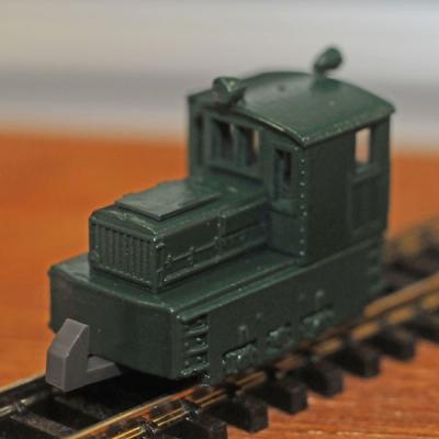 津川洋行 日本牽引車製造7t入換機関車 車体色:緑 14004の商品画像