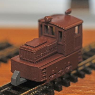 津川洋行 日本牽引車製造7t入換機関車 車体色:茶 14005の商品画像
