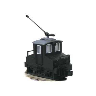津川洋行 銚子電気鉄道 デキ3 電気機関車(初期トロリーポール仕様)車体色:黒 14043の商品画像