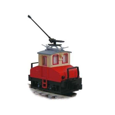 津川洋行 銚子電気鉄道 デキ3 電気機関車(90周年トロリーポール仕様)車体色:赤電色 14045の商品画像