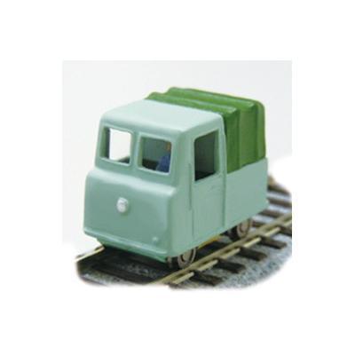津川洋行 モーターカー トラックタイプ(車体色:薄緑色)動力付き完成車 18004の商品画像