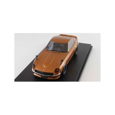ニッサン フェアレディ Z (S30) カスタムバージョン メタリックオレンジ (1/43スケール MARK43 PM4352SP)の商品画像