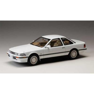 トヨタ ソアラ 3.0GT リミテッド (MZ20) 1986 スーパーホワイト II (1/18スケール HJ1801BW)の商品画像