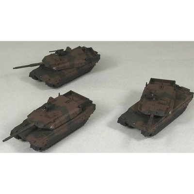 陸上自衛隊 10式 戦車 (3両入) (1/144スケール スモールグランドアーマー SGK01)の商品画像