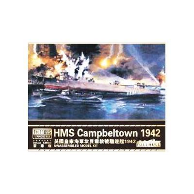 HMS キャンベルタウン 1942 (デラックス限定版) (1/700スケール FLYFH1105S)の商品画像