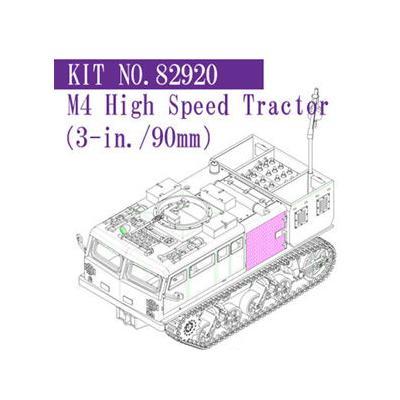 M4 ハイスピード トラクター (3インチ/90mm 用) (1/72スケール ファイティングヴィークル 82920)の商品画像